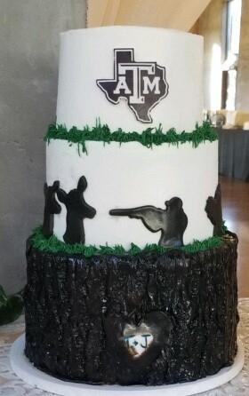 A & M Groomscake