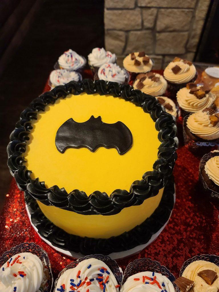 Batman Groomscake