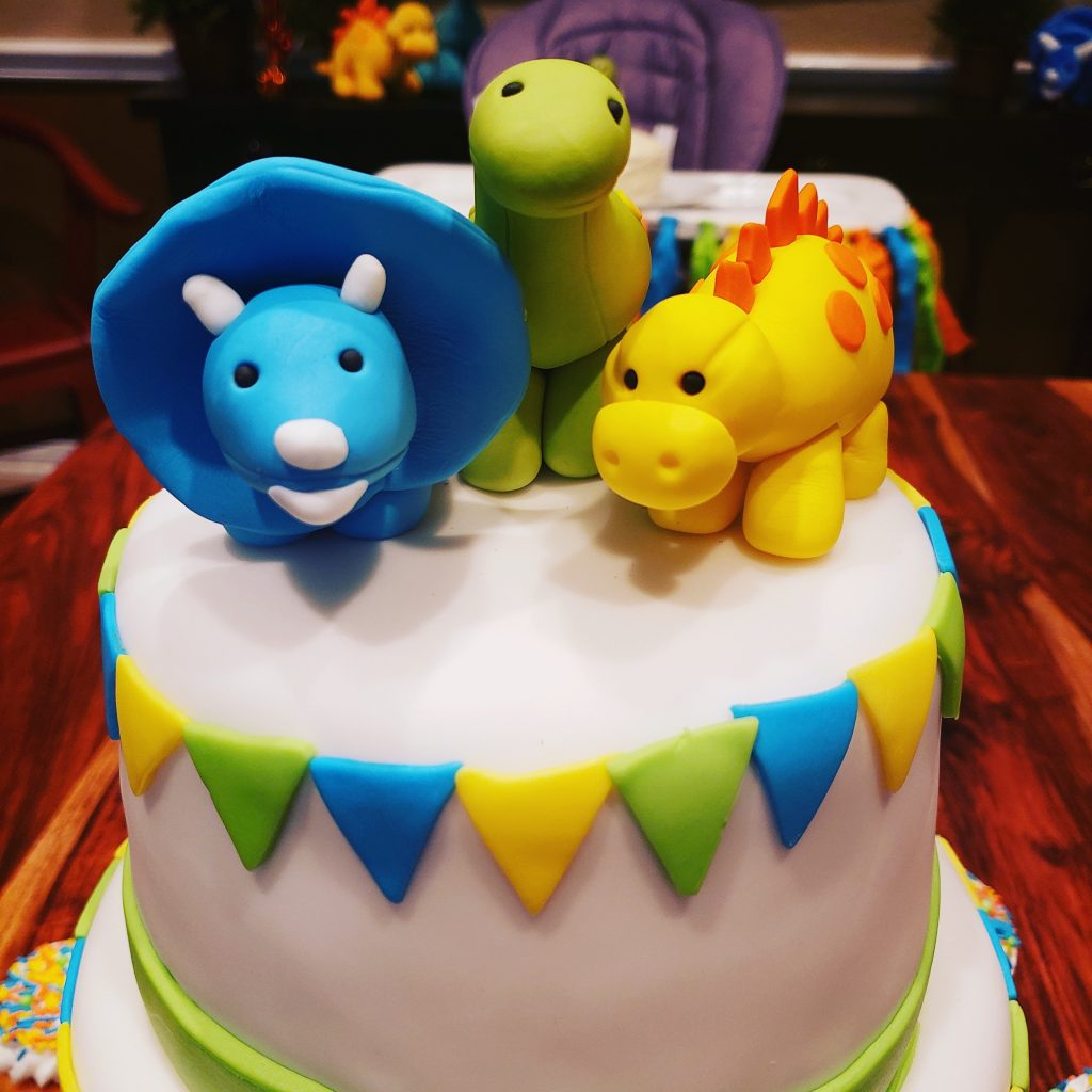 Dinasaur Birthday Cxake