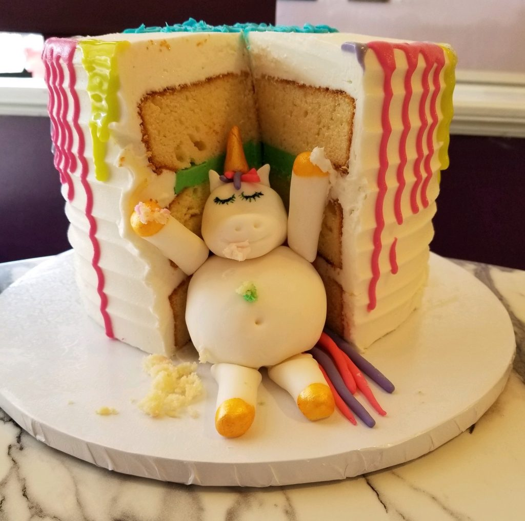 Fat Unicorn Cake