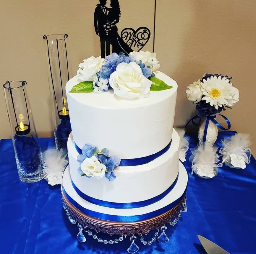 Wedding with Royal Blue
